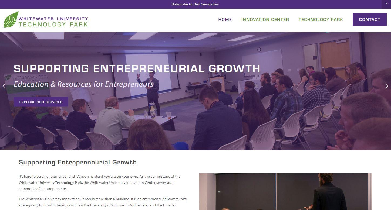 Innovation Center Website
