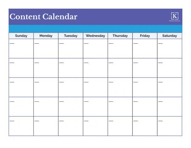 Content-Calendar-Form