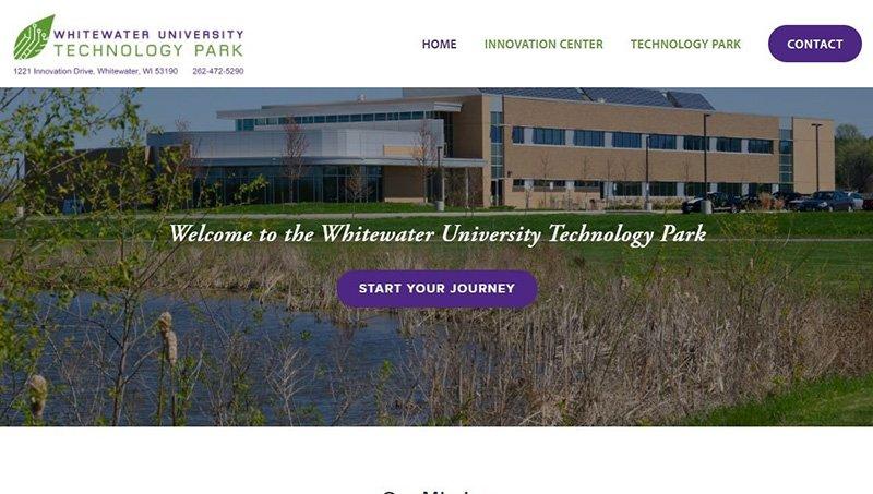 Whitewater University Innovation Center - Previous Website